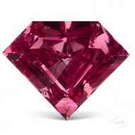 1.00ct Shield Vivid Purplish Pink GIA