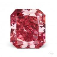 0.67ct Radiant Fancy Vivid Pink VS2 GIA