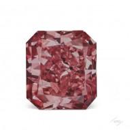 0.39ct Radiant Fancy Vivid Pink I1 GIA, Argyle 3P