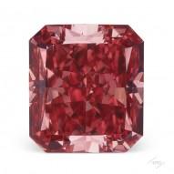 0.50ct Radiant Fancy Deep Pink VS2 GIA