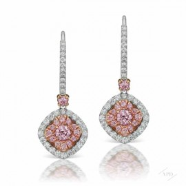 Argyle Pink Azalea Earrings