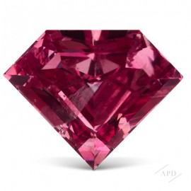 1.00ct Shield Vivid Purplish Pink GIA