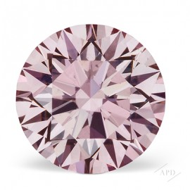 0.78ct Round Fancy Pink SI2 GIA