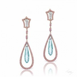 Argyle Mint Tourmaline Drop Earrings