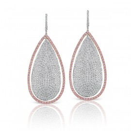 Argyle Large Pear Shape Earrings