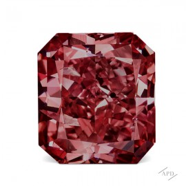 0.39ct Radiant Fancy Vivid Pink I1 GIA, Argyle 3P