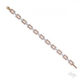 Argyle Pink Diamond Link Bracelet