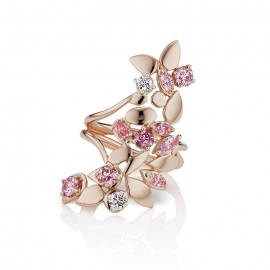 Argyle Long Floral Ring