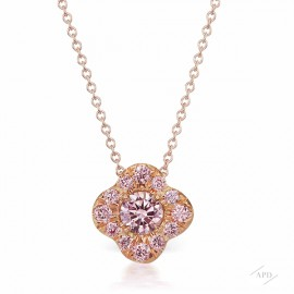 Argyle Pink Azalea Necklace