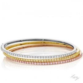 Tri-Color Cuff Bracelet