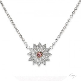 Argyle Mini Starburst Necklace