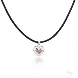 Argyle Heart Pendant