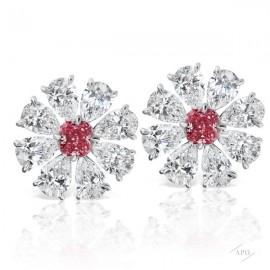 Argyle Cluster Earrings