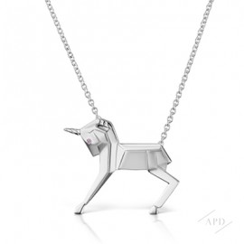 Argyle Mini Magix Unicorn Necklace