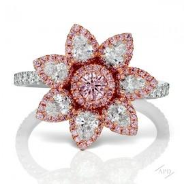 Argyle Flower Ring