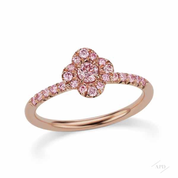 Argyle Pink Azalea Ring