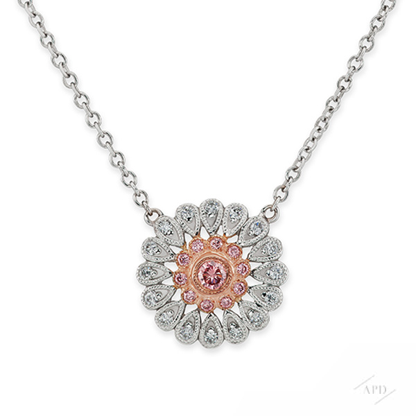 Argyle Starburst Necklace