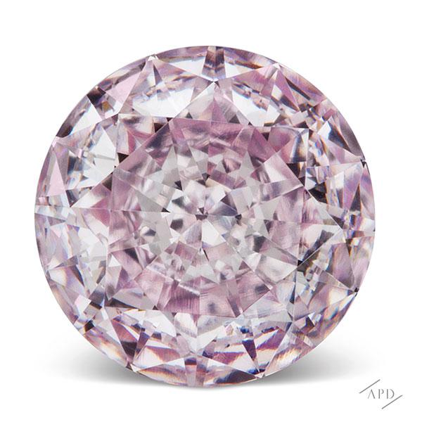 Round Argyle Pink Diamond VVS