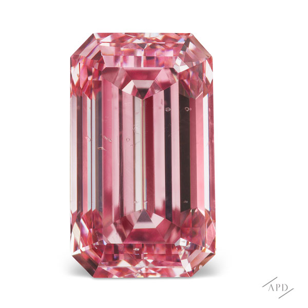 Argyle Emerald Cut Pink Diamond