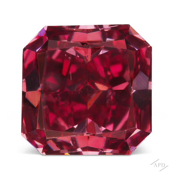 0.51ct Red Diamond