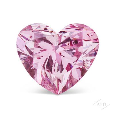 0.18ct Heart Shape Argyle 6PP P1