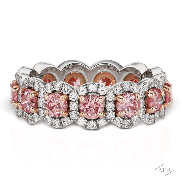 Argyle Eternity Band