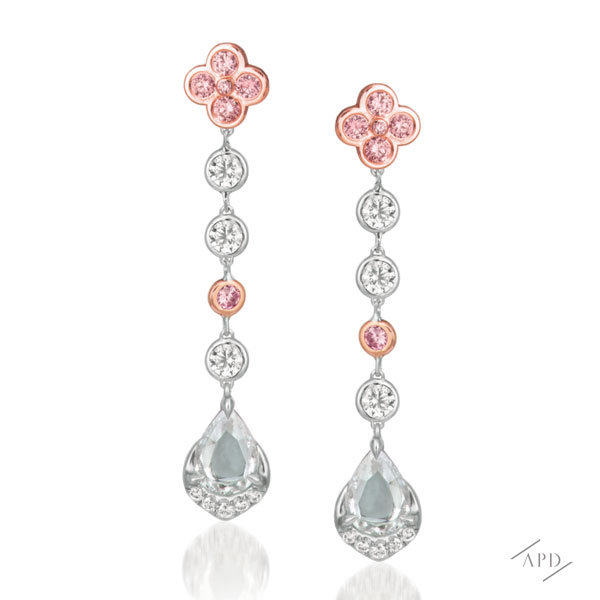 Argyle Sakura Drop Earrings