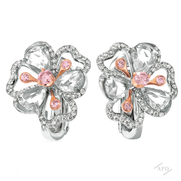 Sakura Flower Earrings