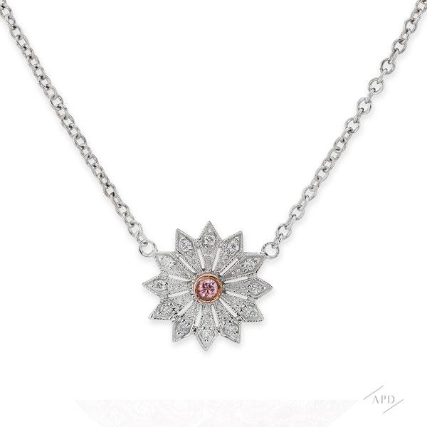 Argyle Mini Starburst Necklace