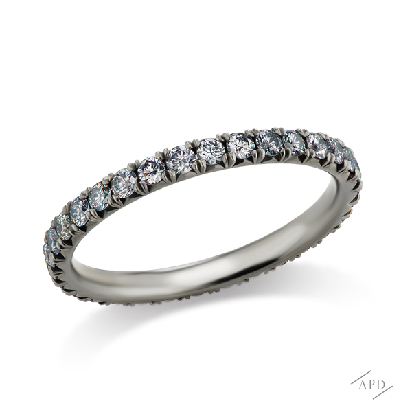 Argyle Diamond Band with 0.65ct Blue Diamonds