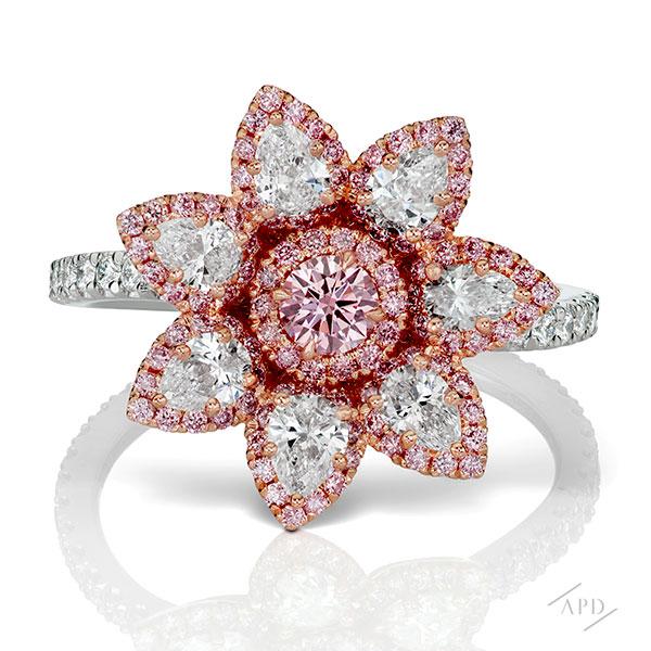 Argyle Flower Ring
